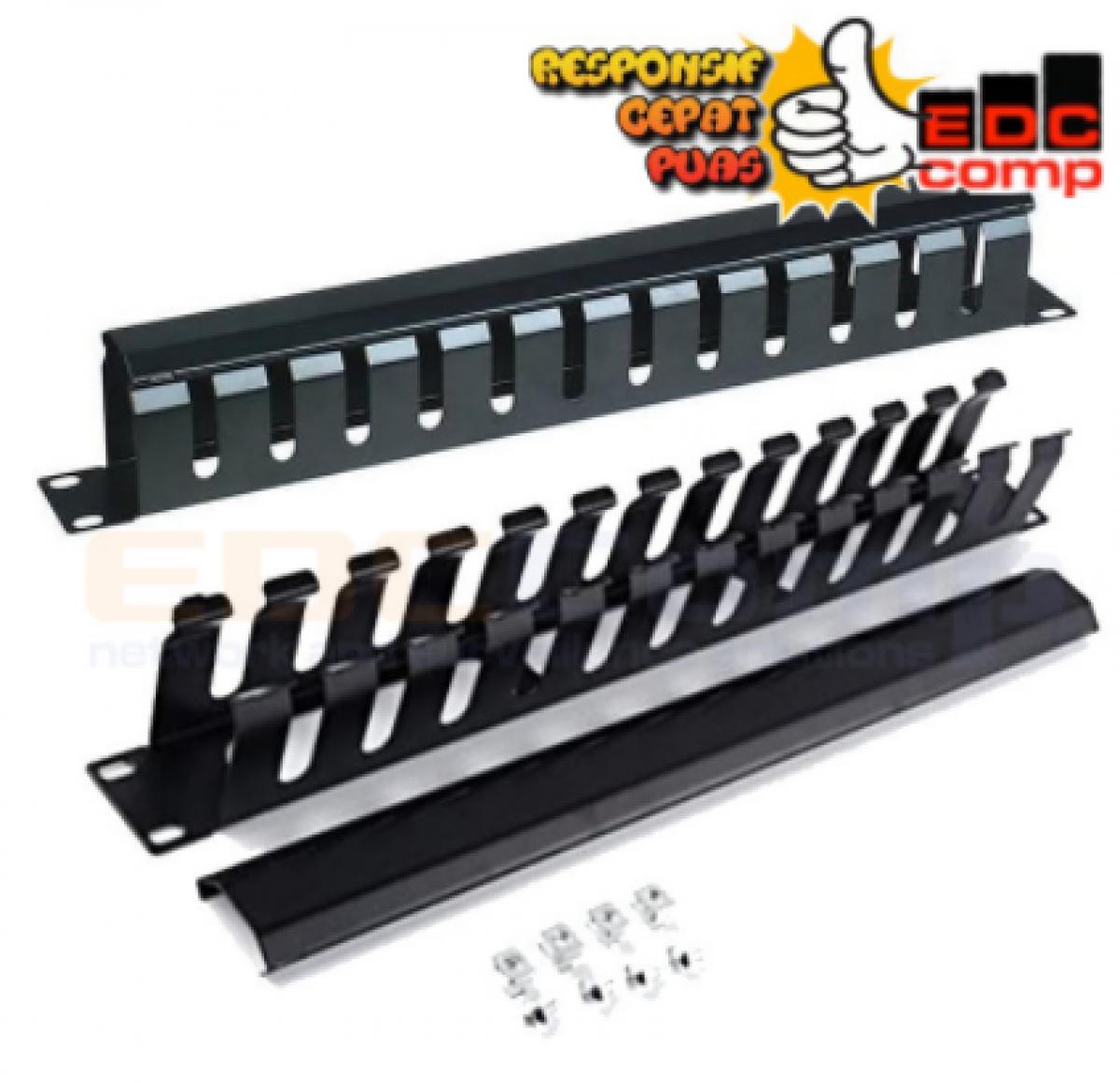 Wire Management rack 1U - EdcComp