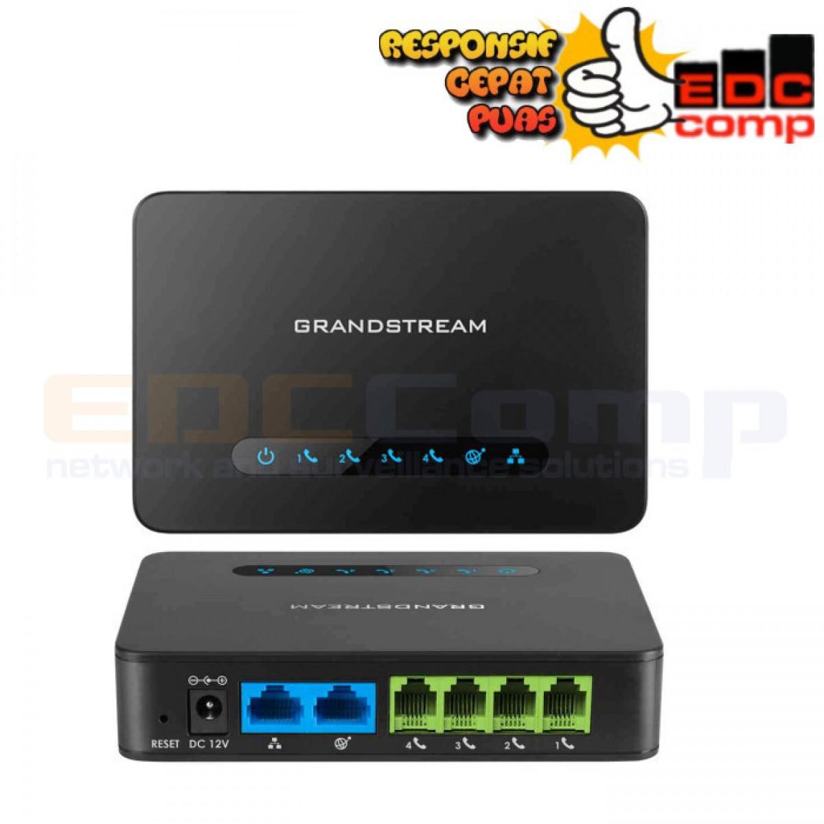 Grandstream HT814 Voip Gateway - HT814 VOIP Gateway Grandstream - EdcComp