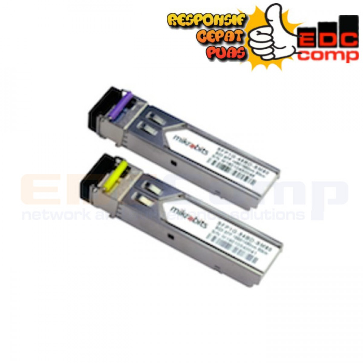 Mikrobits SFP Transceiver SFP-1G-BD-SM-80KM - EdcComp