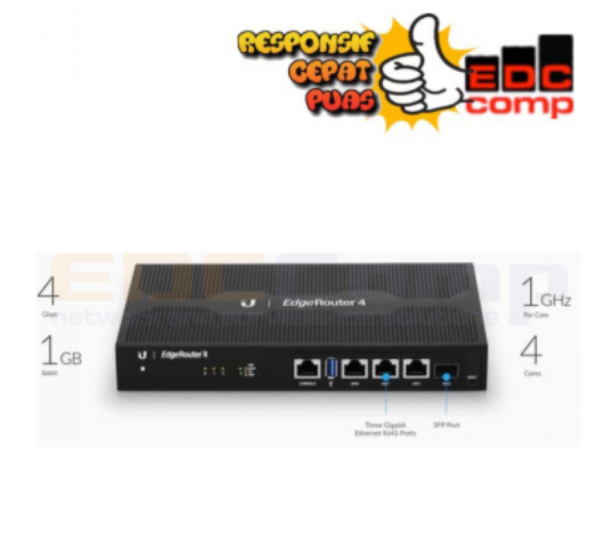 Ubiquiti ER-4 - UBNT EdgeRouter 4 - EdcComp