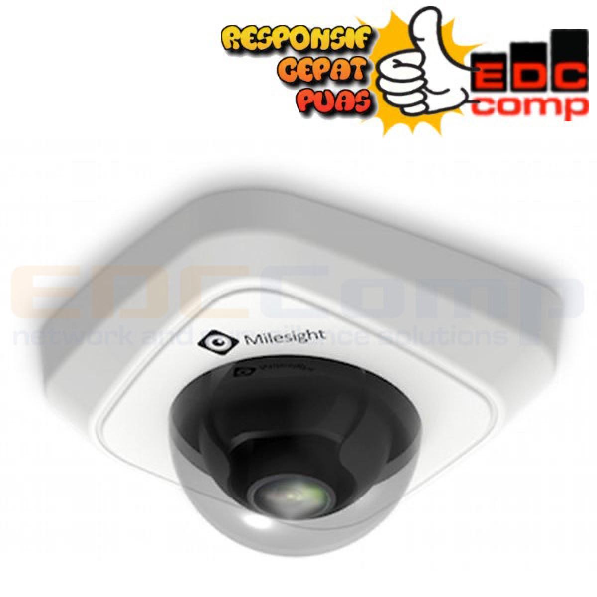 Milesight IP Cam Mini Dome MS-C2982-PB 2.0MP - White - EdcComp