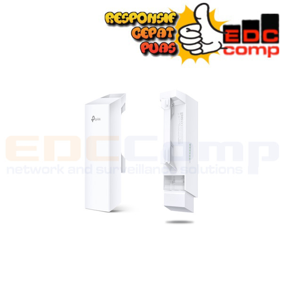 Wireless Outdoor 2.4GHz 300Mbps 9dBi CPE210 TP-Link - EdcComp