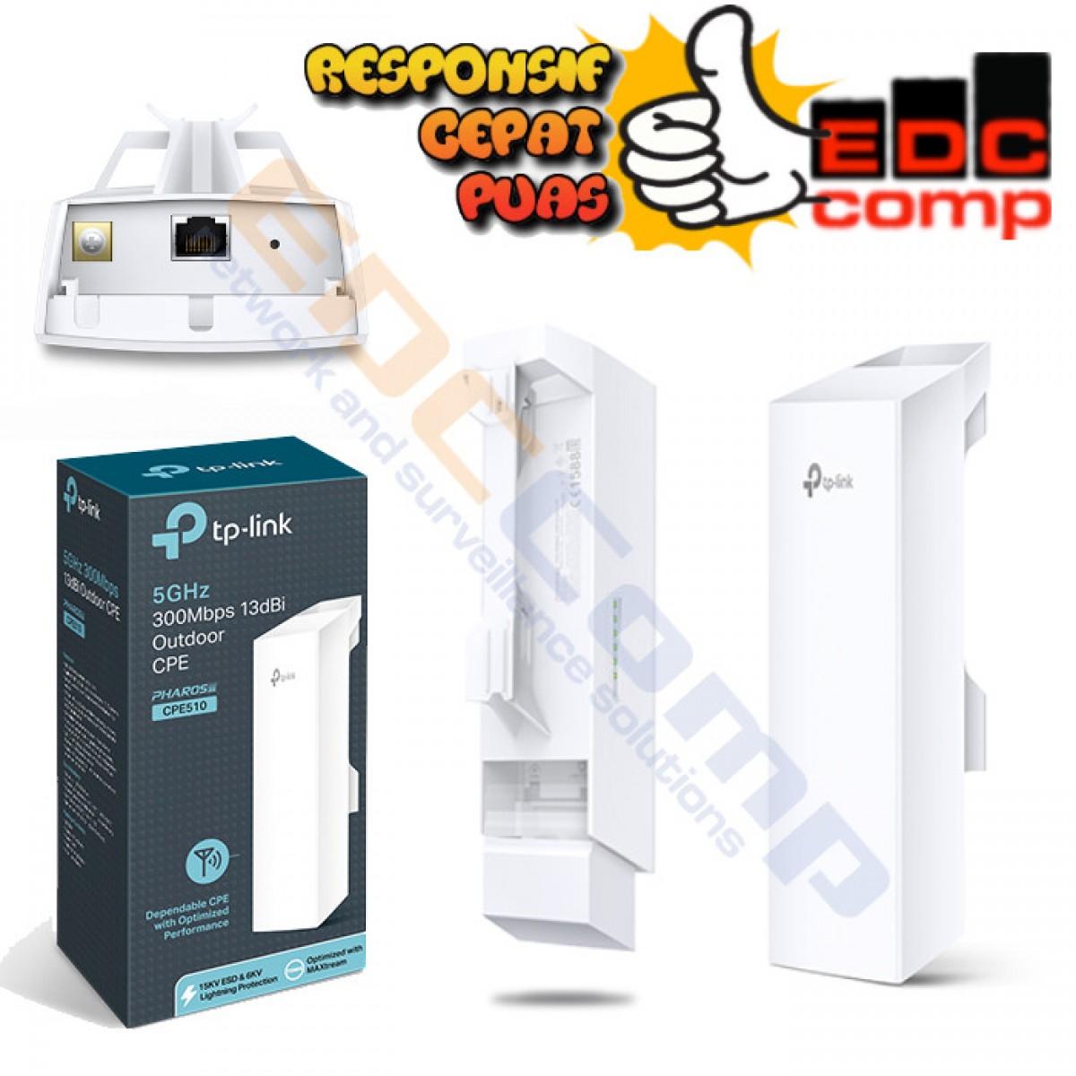 5GHz 300Mbps 13dBi Outdoor CPE CPE510 TP-Link TPlink - EdcComp