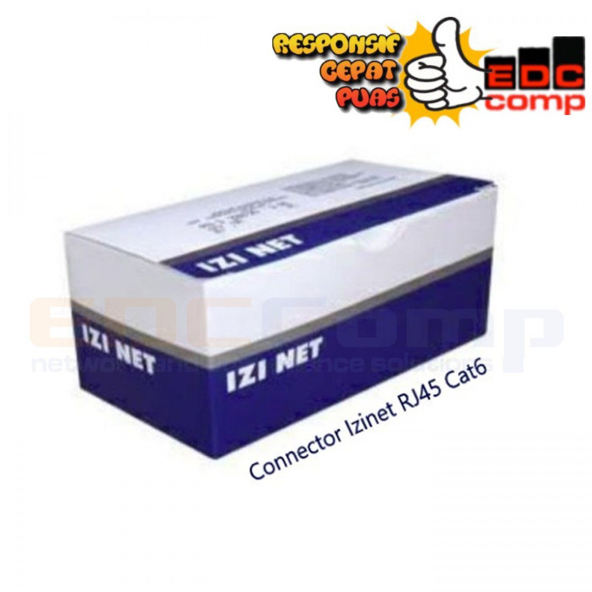 Connector IZINET RJ45 FTP / STP Cat 6 Original - EdcComp
