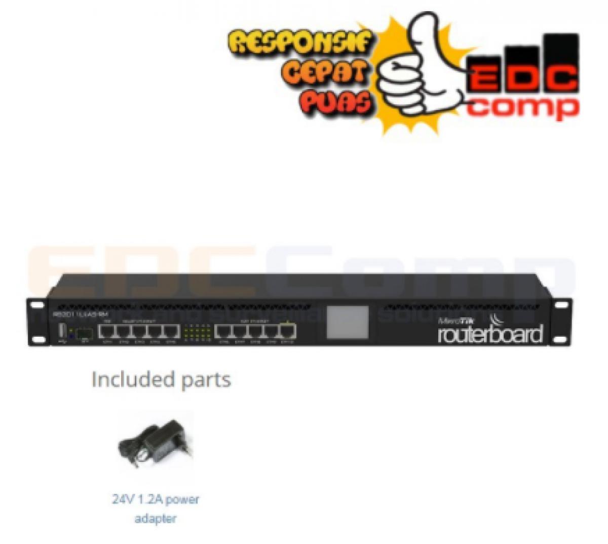 MikroTik Routerbord RB2011UiAS-RM / RB2011 UiAS RM / RB2011UiAS - EdcComp