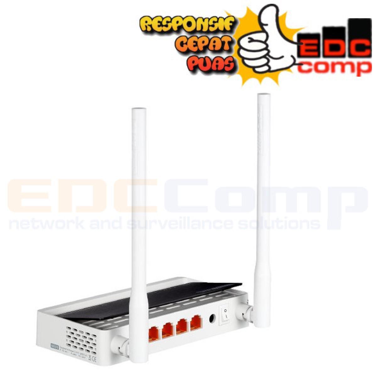 TotoLink 300 Mbps Wireless N Broadband Router - N300RT n300 - EdcComp