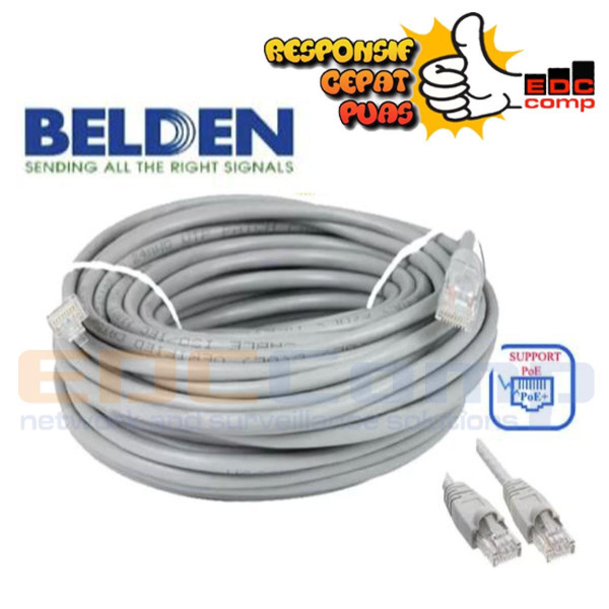 Belden UTP 60M Kabel LAN Cat5e 60 Meter Cable Original USA - EdcComp