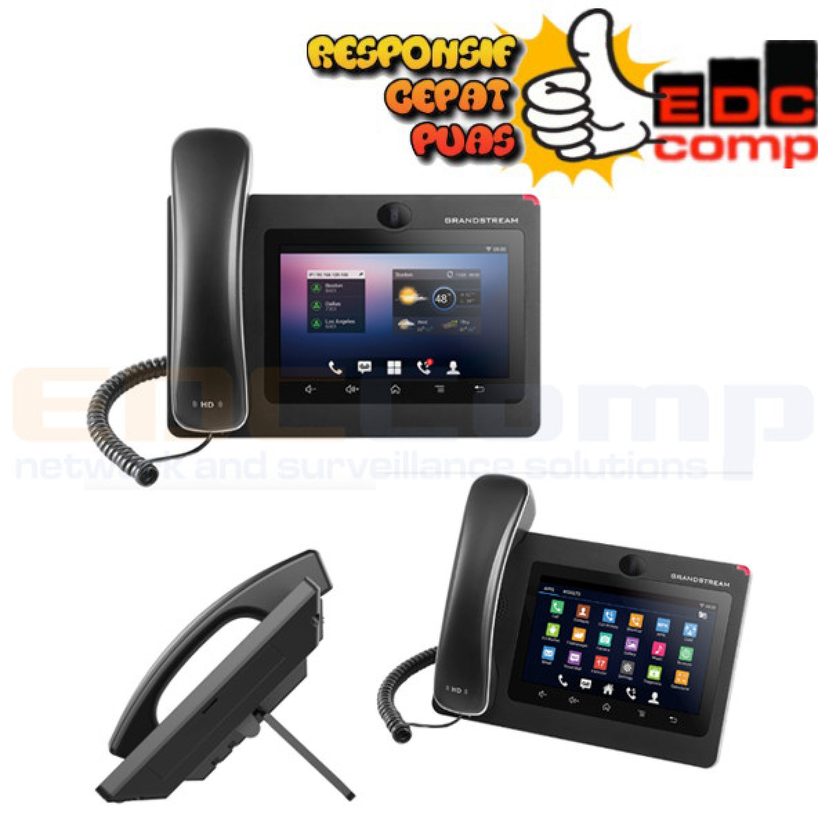 Grandstream GXV3275 IP Video Phone with Android™ /GS GXV3275 - EdcComp