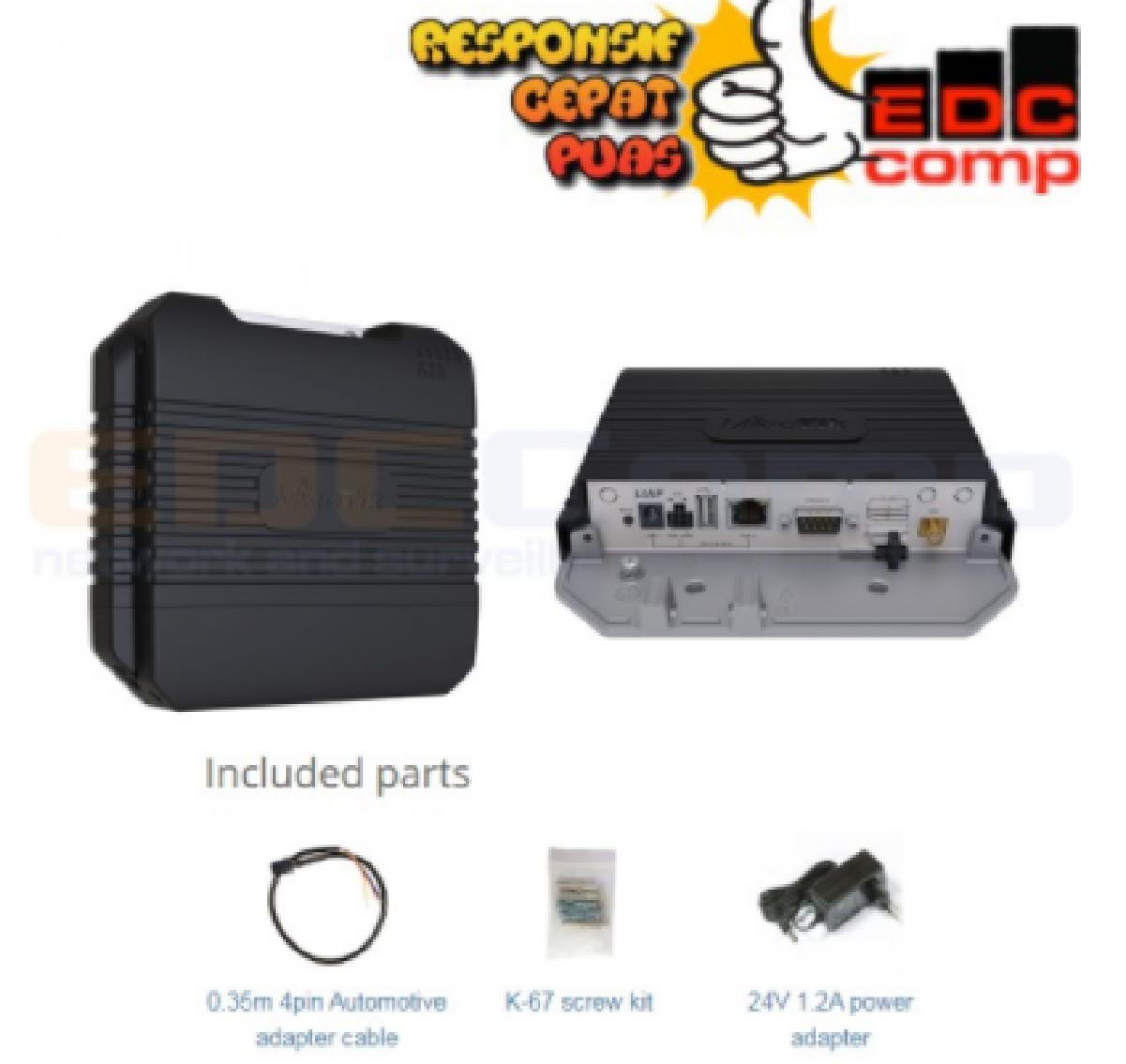 MikroTik LtAP LTE Kit - RBLtAP-2HnD-R11e-LTE - RBLtAP-2HnD&R11e - EdcComp