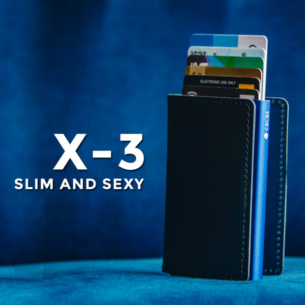Cacas Premium X-3 Limited Blue Edition 2019 - Simple Series