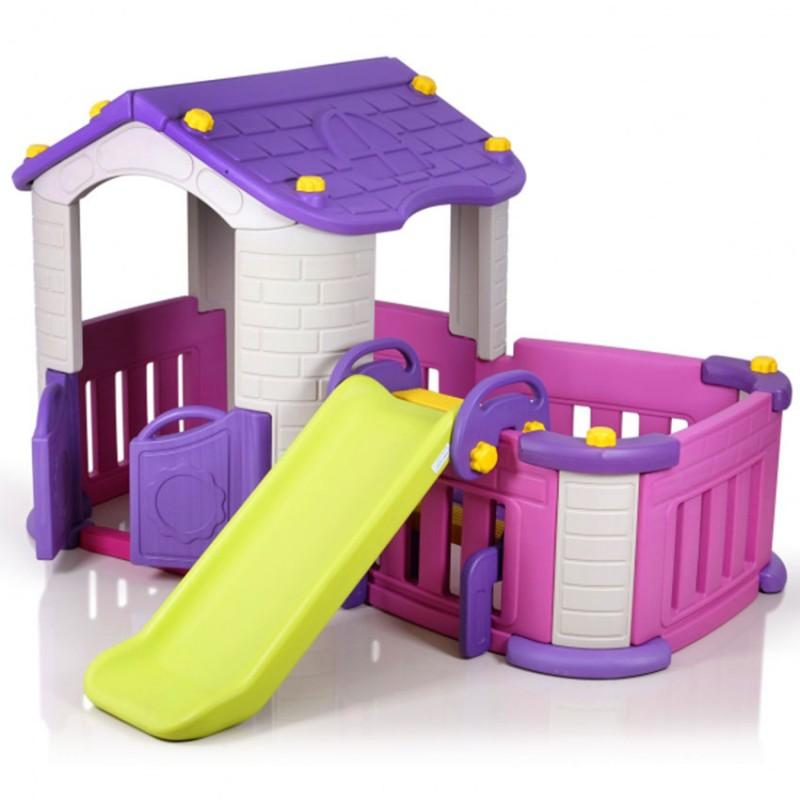 (Chd-354)Big Playhouse With Slide