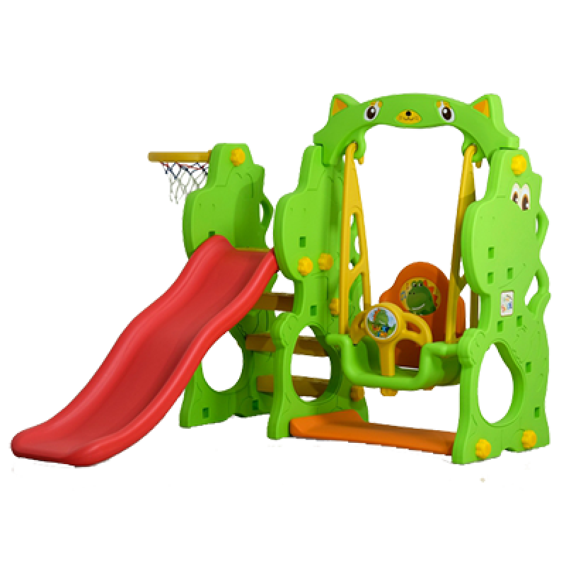 Dino Slide With Swing