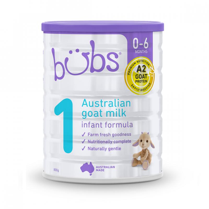 Bubs - Organic Grass Fed S1 - 800G