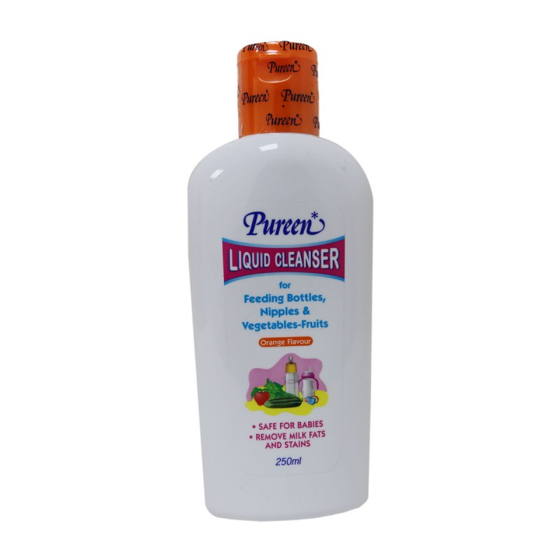 Pureen Liquid Cleanser Orange Flavour (250ml)