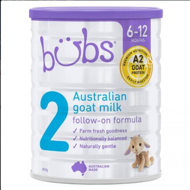 Bubs - Organic Grassfrefollow - 800gram