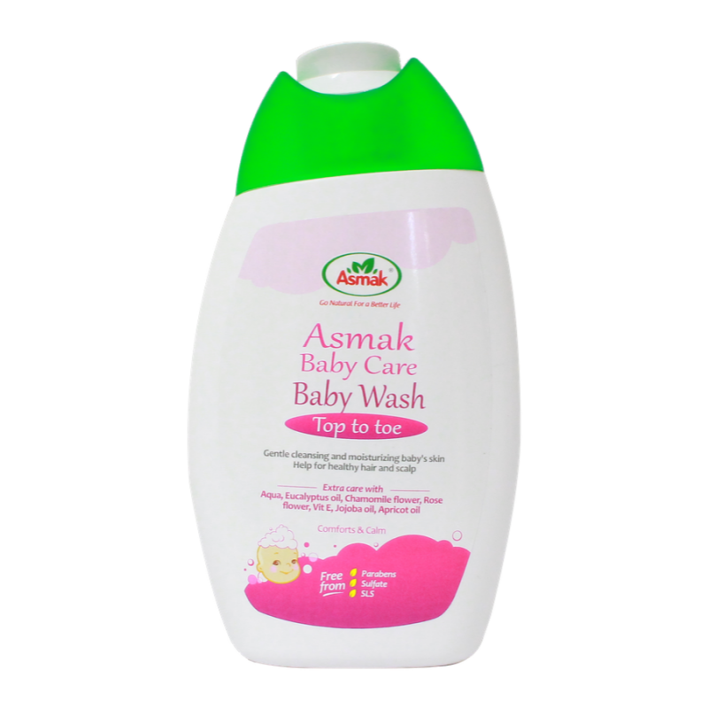 Asmak-ABC Baby Wash-200ml