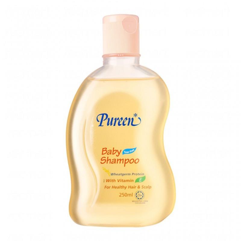Pureen Baby Shampoo Wheatgrem Protein (250ml)