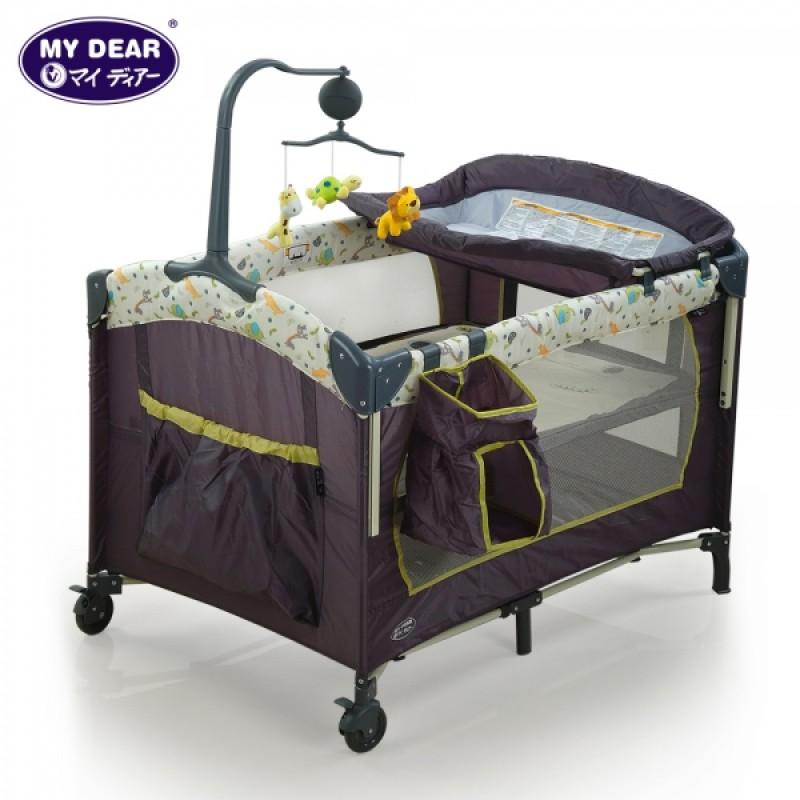 (SB7322B) Baby Bed