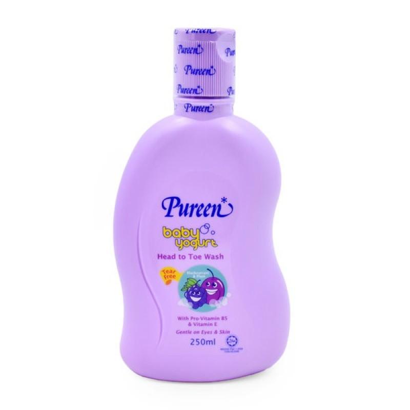 Pureen Baby Yogurt Head To Toe Wash (250ml)