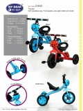 (XG13401N) Tricycle With Ladu Bug - Kico Baby Center