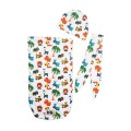 Aldo Cocoon Swaddle Motif 1 Layer (Free Head Band + Topi) - Kico Baby Center