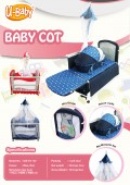 Lufiya Baby Cot - Kico Baby Center