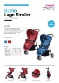Lugo Jogger Stroller - Kico Baby Center