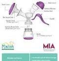 Malish Mia Manual Breast Pump - Kico Baby Center