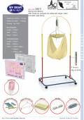 FERO BABY SPRING COT FULL SET (EPOXY) NEW STOCK - Kico Baby Center