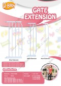 HELY GATE EXTENSION 20 CM - Kico Baby Center
