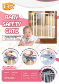 HELY BABY SAFETY GATE (NEW STOCK) - Kico Baby Center