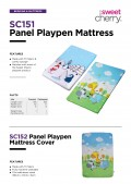 Penguin Panel Playpen Mattress - Kico Baby Center