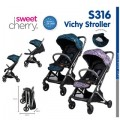 VICHY COMPACT STROLLER - Kico Baby Center
