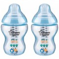 TOMME TIPPEE CTN TINTED BOTTLE 260ML/50Z PK1 - BLUE - Kico Baby Center