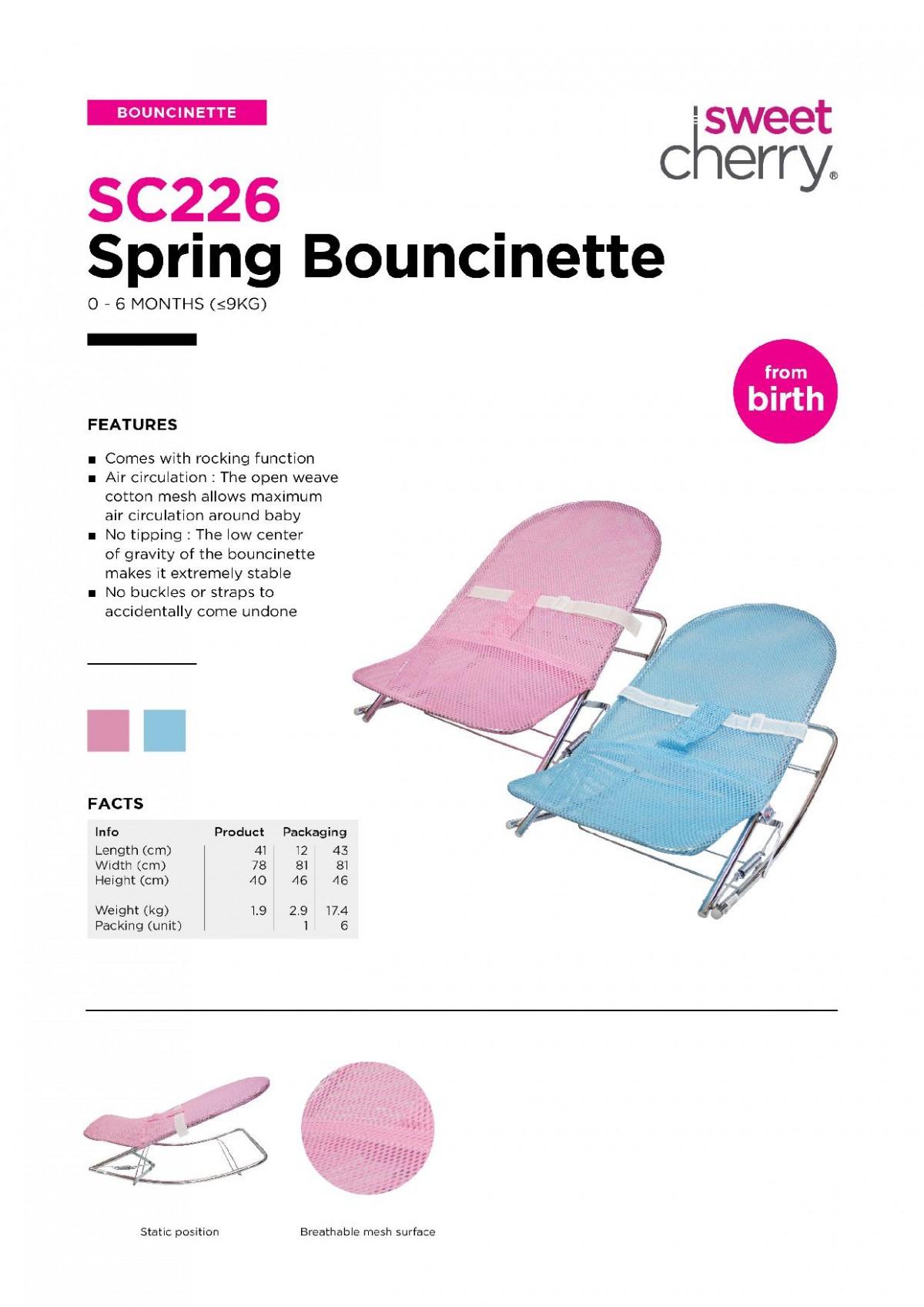Spg.Bouncinette(201) - Kico Baby Center