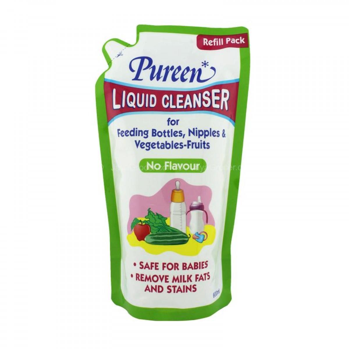 Pureen Liquid Cleanser Refill No Flavour (600ml) - Kico Baby Center