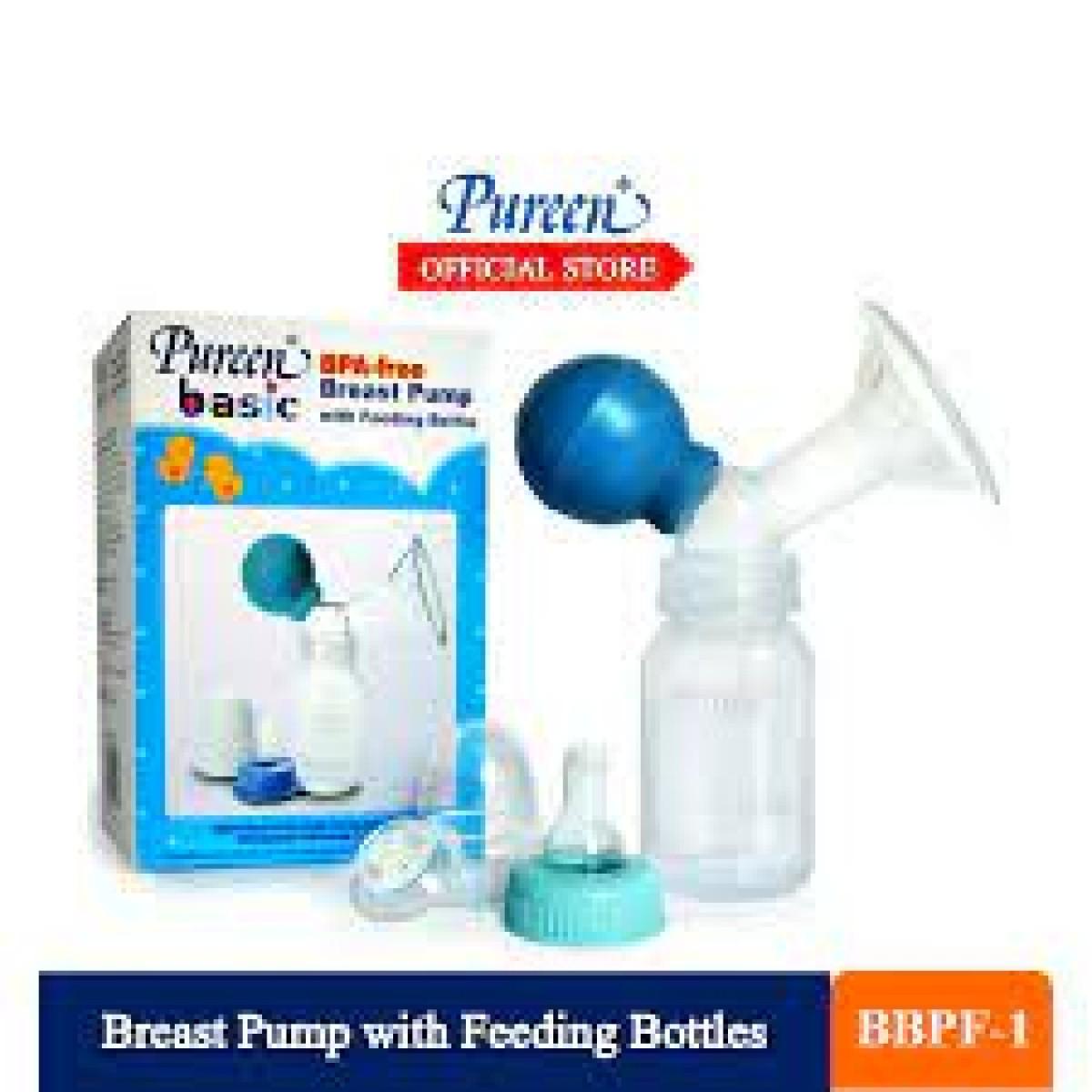 Pureen Basic Breast Pump W/Bot (4oz) - Kico Baby Center