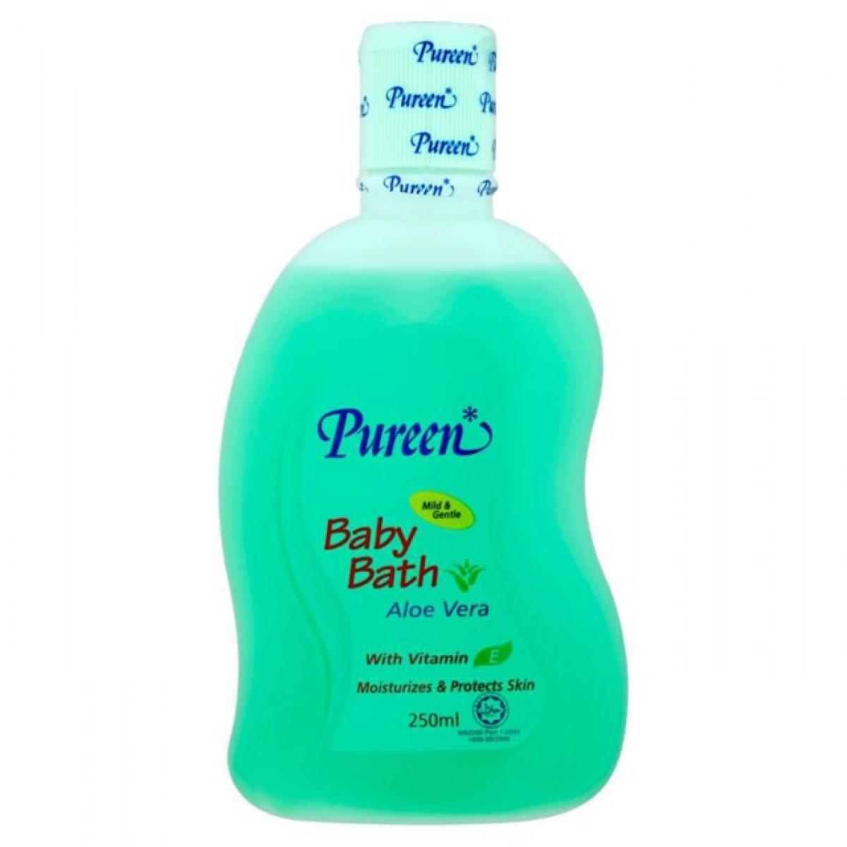 Pureen Baby Bath Aloe Vera (250ml) - Kico Baby Center