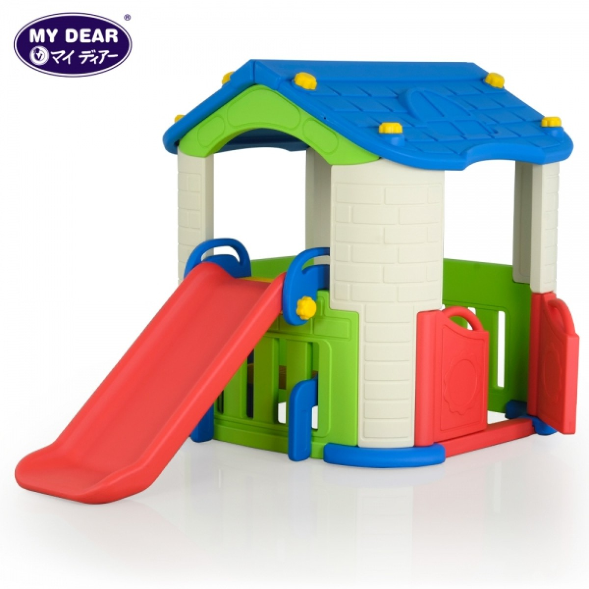 (Chd-801) Happy Playhouse With Slide - Kico Baby Center