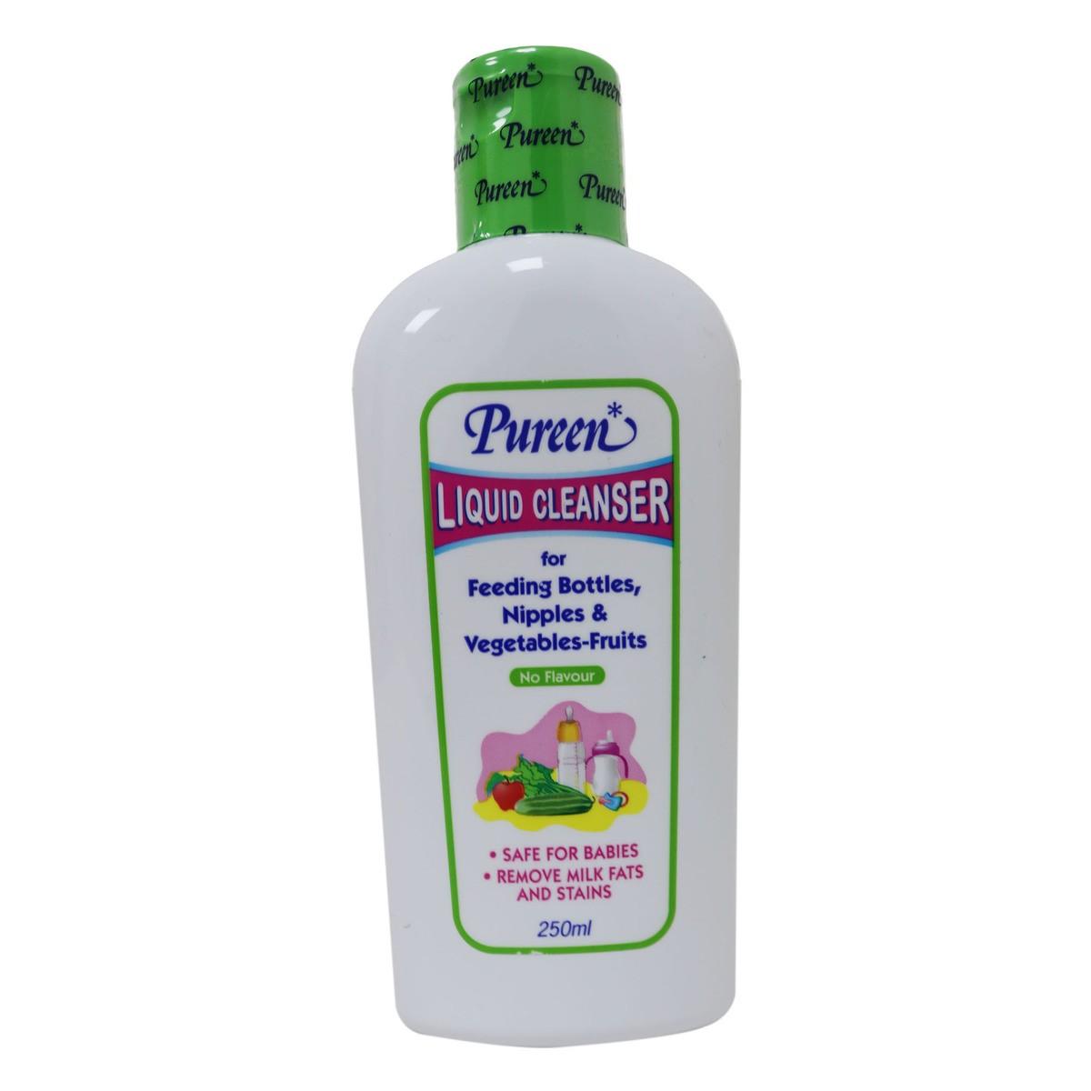Pureen Liquid Cleanser No Flavour (250ml) - Kico Baby Center