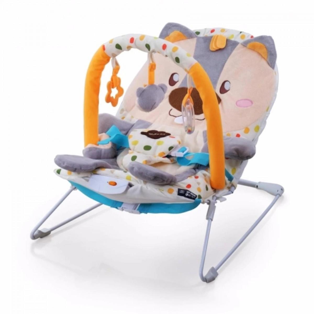 SQUIRREL BABY ROCKER - Kico Baby Center