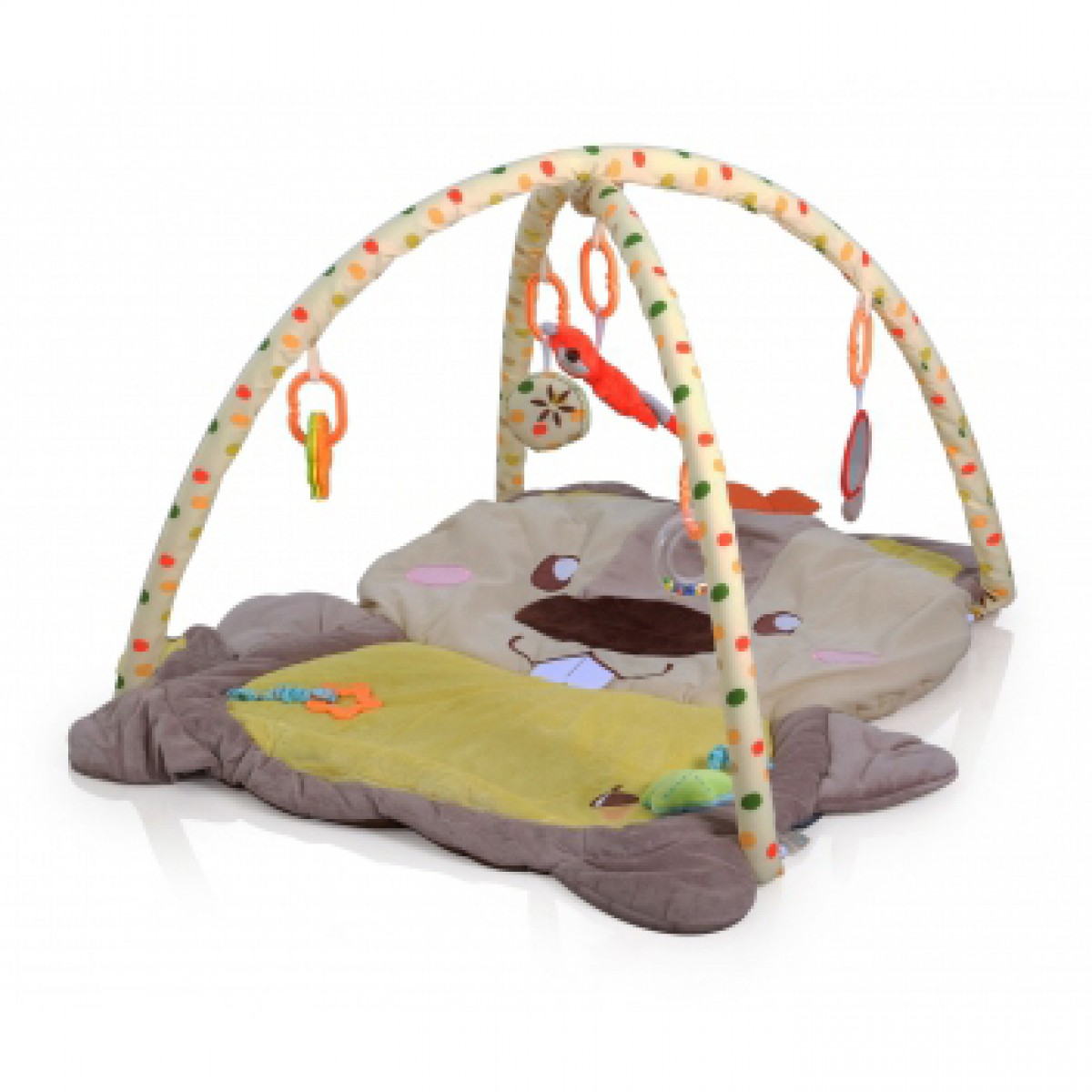 (Q/3327C-3874) Playmat- Squirrel - Kico Baby Center