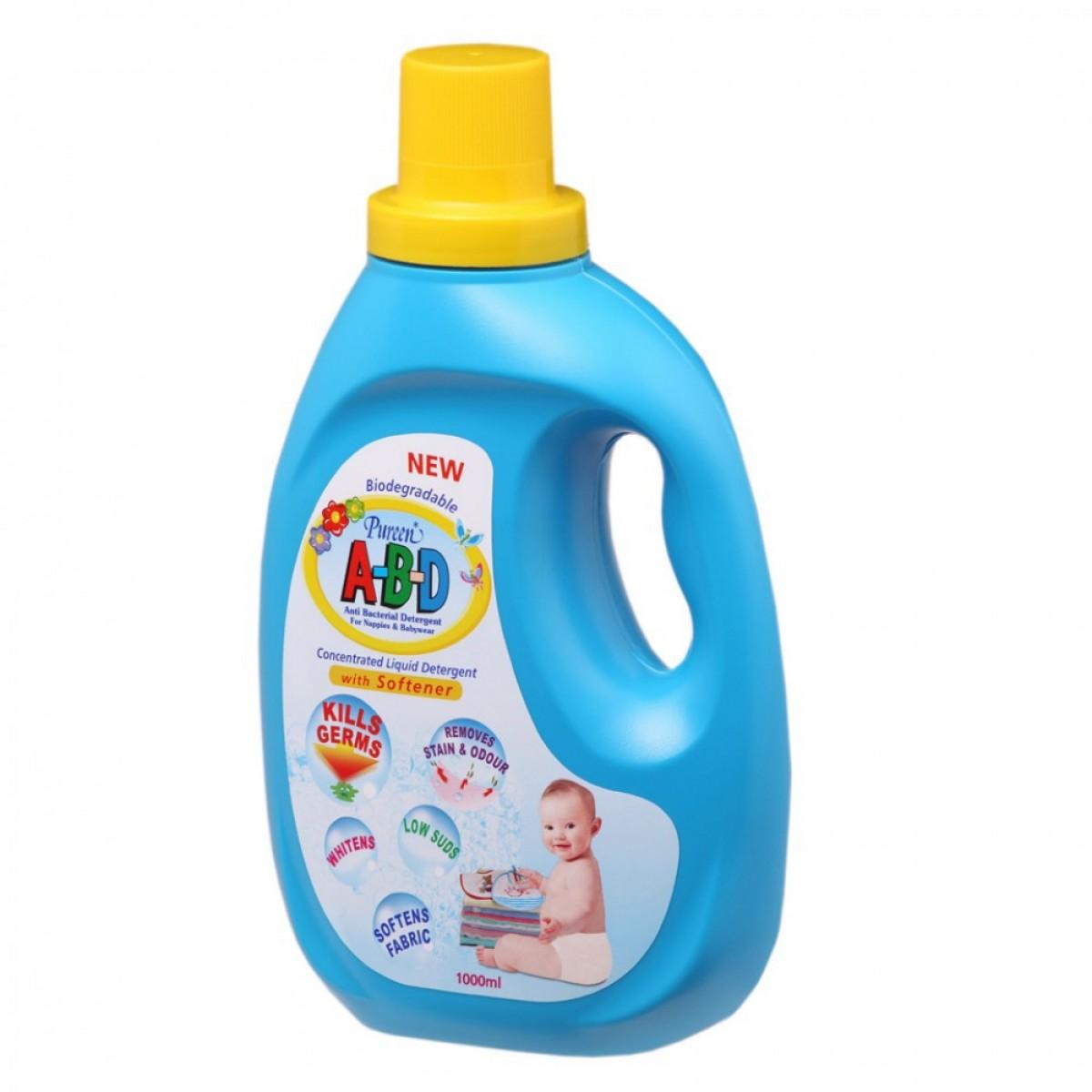 Pureen Abd Liquid Detergent (1000ml) - Kico Baby Center