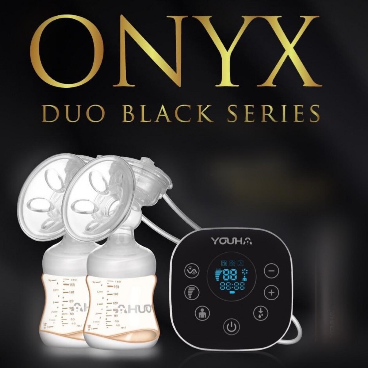 Youha Black Series Onxy Double Breast Pump+ Foc Youha Cooler Bag - Kico Baby Center