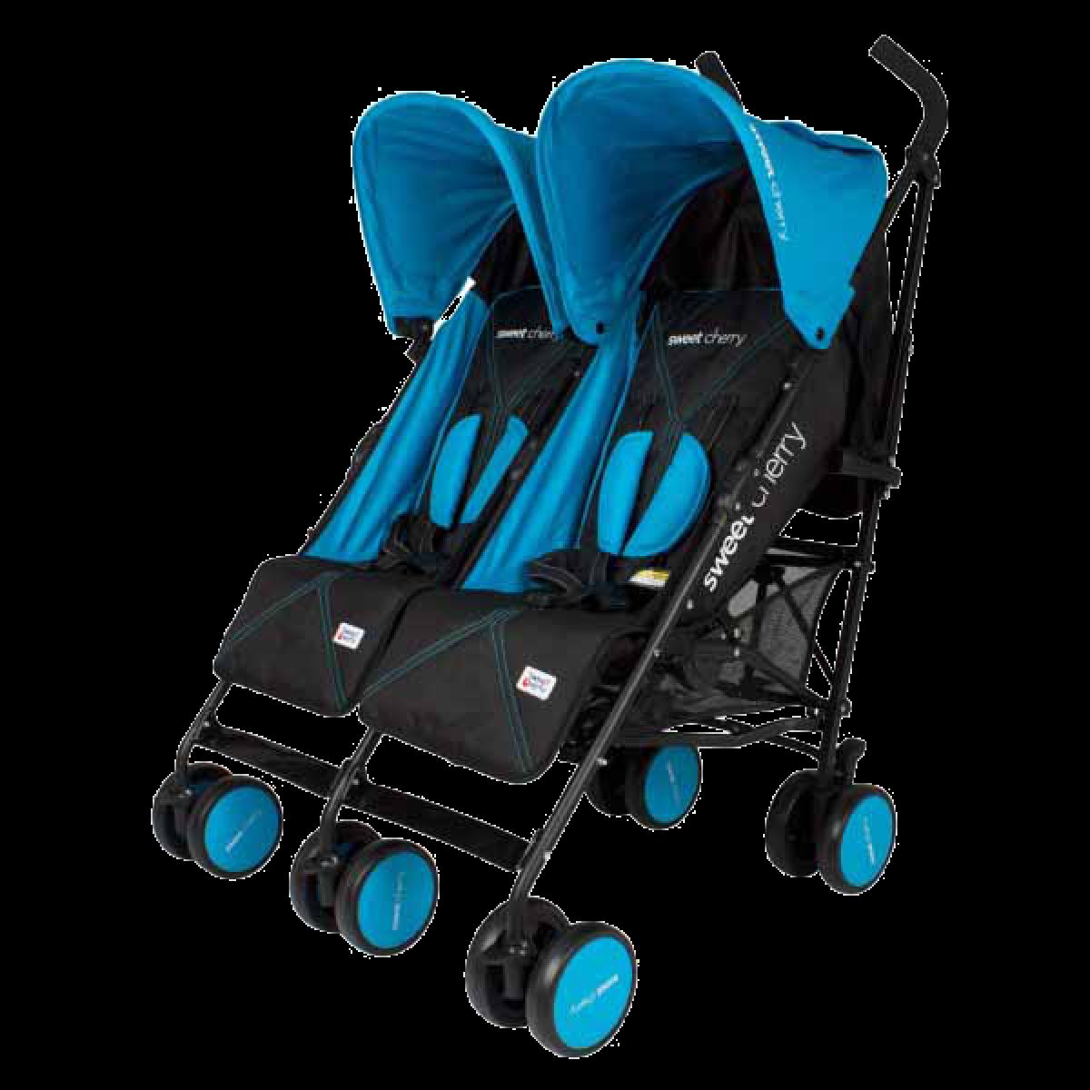 WELLS TWIN STROLLER - Kico Baby Center
