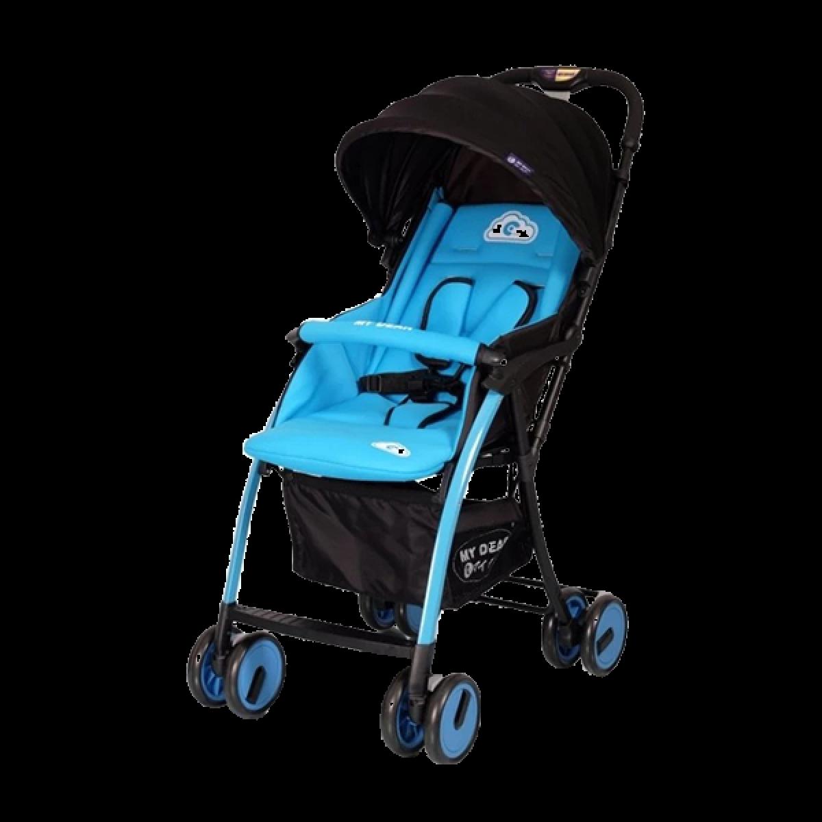 HONOLULU BABY STROLLER (FEATHER) - Kico Baby Center