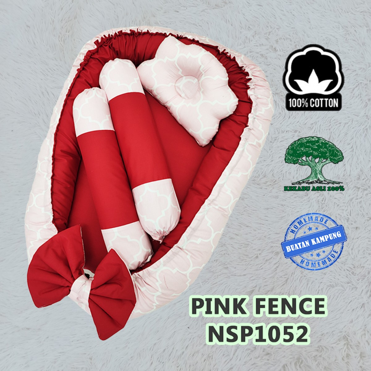 Pink Fence - Kico Baby Center
