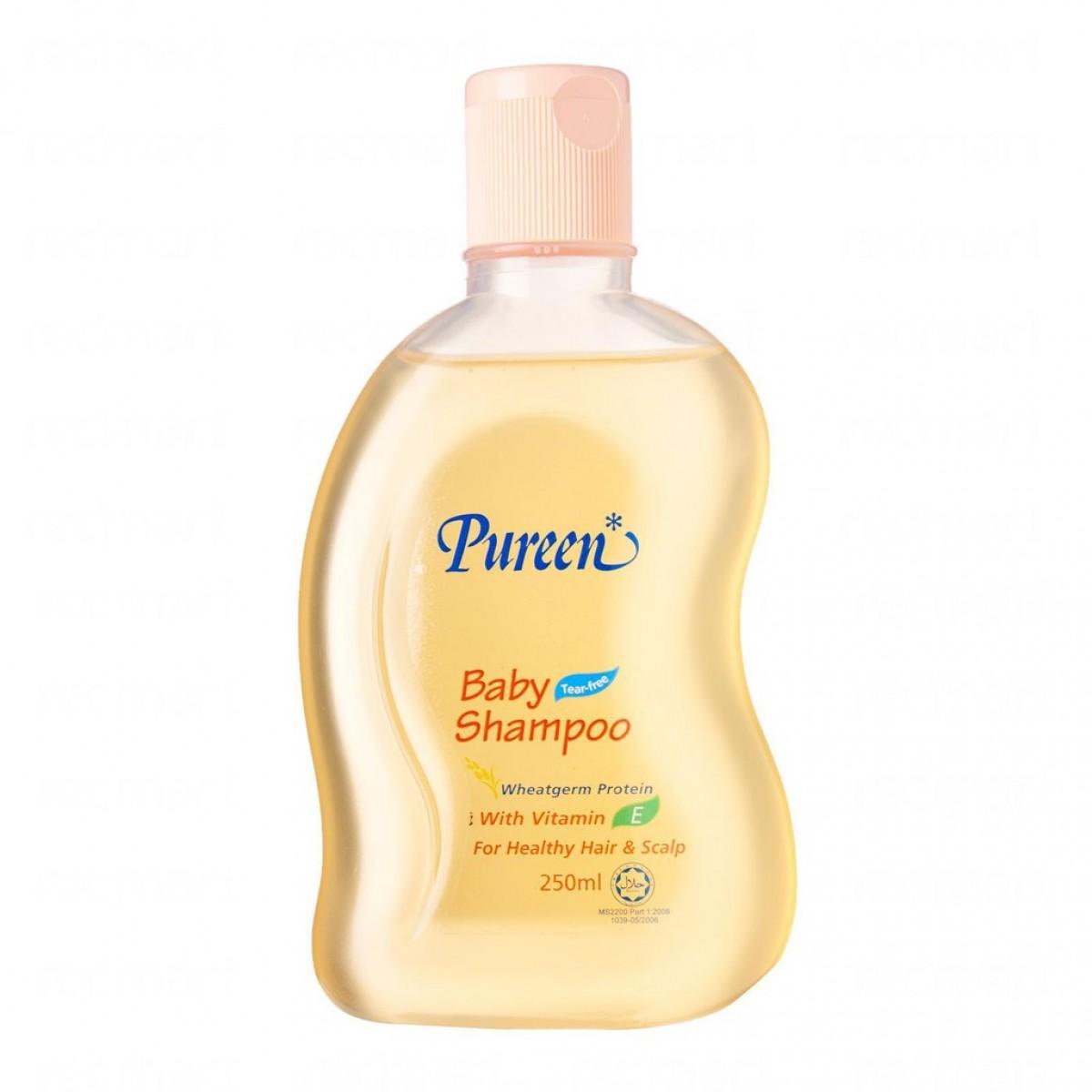 Pureen Baby Shampoo Wheatgrem Protein (250ml) - Kico Baby Center