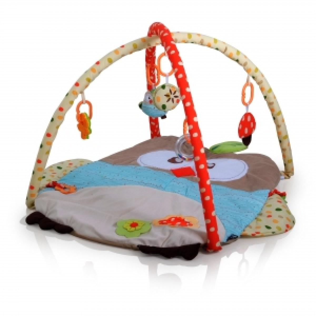 (Q/3328C-3874) Playmat- Owl - Kico Baby Center