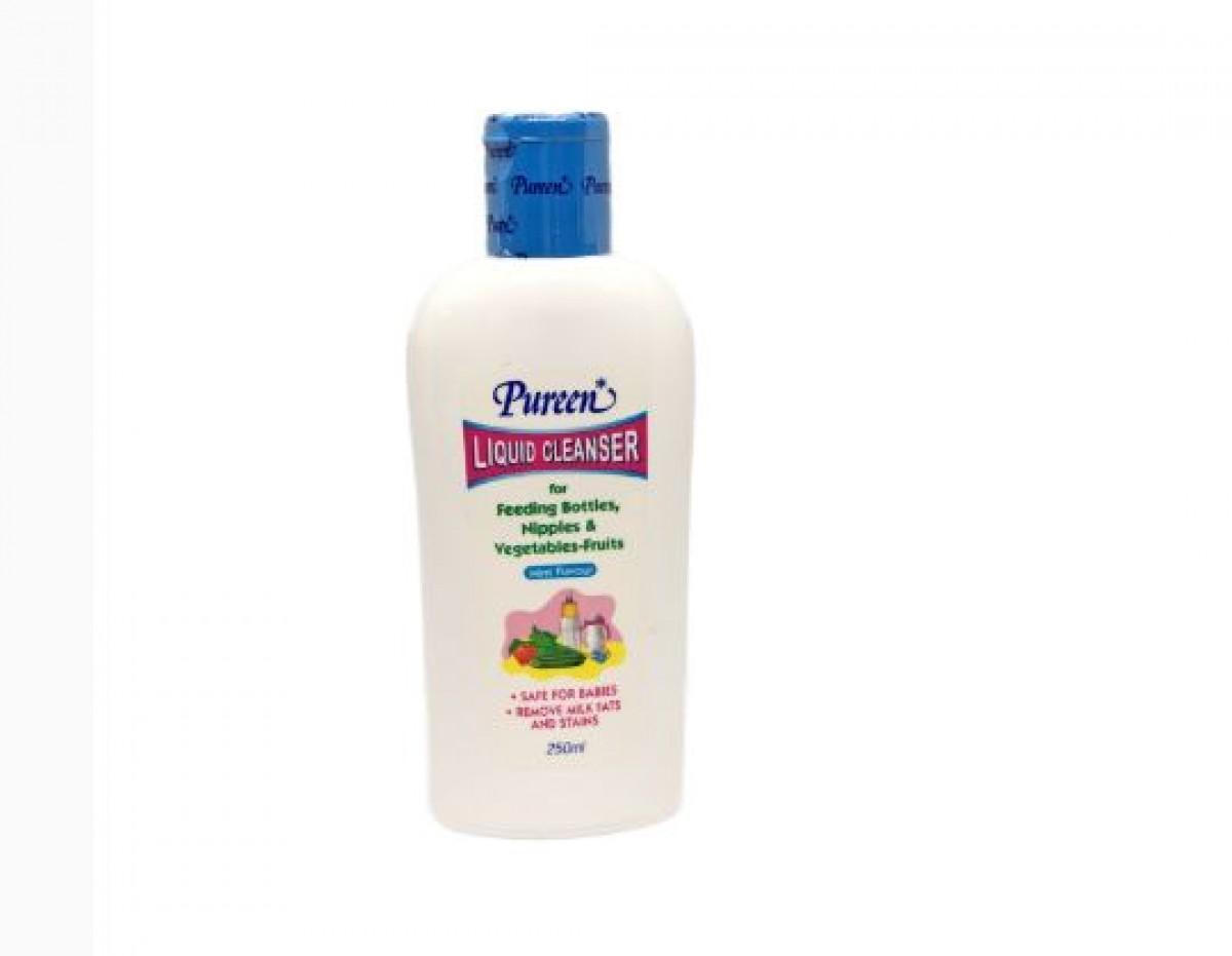 Pureen Liquid Cleanser Mint Flavour (250ml) - Kico Baby Center